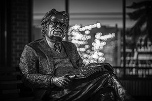 Statue of Northrop Frye (1912-1991)