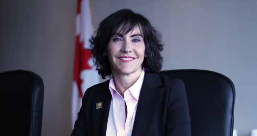 Ghislaine Saikaley. Interim Commissioner of Official Languages