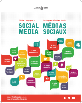 Official Languages in Social Media - Poster (Bilingual)