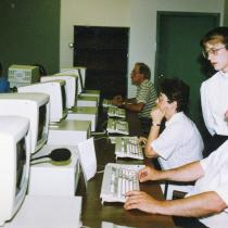 Students at the Collège de l'Acadie