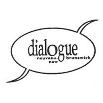 Old logo of Dialogue Nouveau-Brunswick