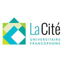 Logo of the La Cité - Université francophone in Regina (Saskatchewan)