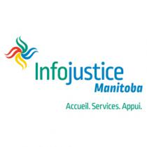 Logo of Infojustice Manitoba
