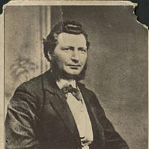 Portrait of Louis Riel