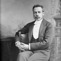 Studio portrait of Mr. McCarthy