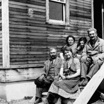 Loeffler refugee family settled at Edenbridge, Saskatchewan