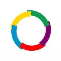 Le logo de l'Office International de la Francophonie