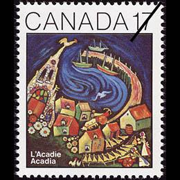"Post stamps ""Acadian"""