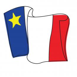 "Image ""Nous sommes tous Acadiens"" ""We are all Acadians"""