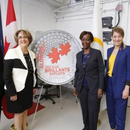 Ceremony held at the Royal Canadian Mint in Ottawa