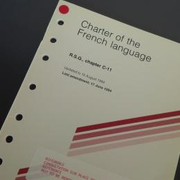 Charter of the French Language cover's picture